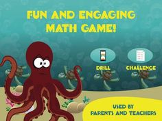 OctoPlus by Zyrobotics- http://geni.us/lEc a fun and engaging arcade style math game app for kids to practice and learn their addition math facts from 1 to 10. With 3 levels of difficultly and lots of customisable option it is perfect for all children including those with motor / cognitive delays!