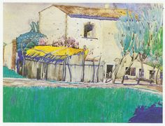 Summer in the South, Charles Rennie Mackintosh 10 x 12 inch ready mounted print in Art, Prints, Modern Sketchbook Drawings, Sketches, Charles Rennie Mackintosh, Glasgow School Of Art, Modern Landscaping, Fairy Land, Color Of Life, Line Drawing, Illustrators