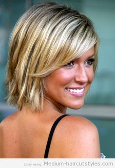 Stupendous For Women Layered Hairstyles And Medium Lengths On Pinterest Short Hairstyles For Black Women Fulllsitofus