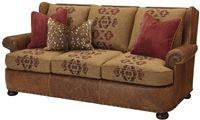 photo of classy upholstered sofa