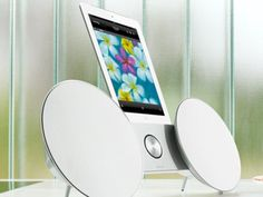 Useless: The $850 Bang & Olufsen BeoSound 8 is designed to work with the current iPhone's design