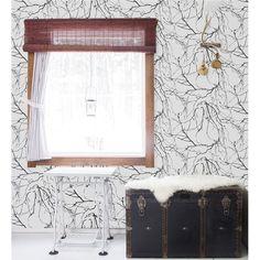 Papel Pintado Moderno de Flores, VALLILA 4982-2