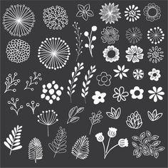 Blumen doodles