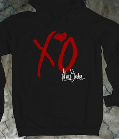 The Weeknd XO Hoodie Rock Hoodie  Awesome Hoodie Size by BLUOES, $32.00