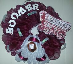 Oklahoma Sooners Wreath!