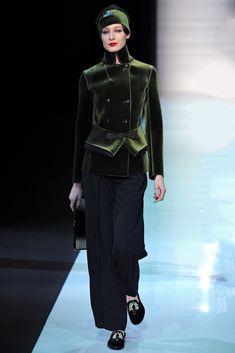 Emporio Armani Fall 2013 Ready-to-Wear Fashion Show - Elena Egorova