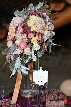 Would be a wonderful bouquet, too!  from 25 Stunning Wedding Centerpieces - Part 8 - Belle the Magazine . The Wedding Blog For The Sophisticated Bride