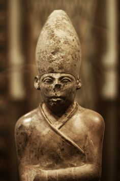 Khasekhemwy (ca. 2690 BC) was the final king of the Second dynasty of Ancient Egypt. This statue of him in the Ashmolean Museum is the oldest example of royal statuary from Egypt. It shows him wear...