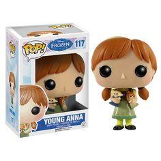 Disney Frozen Young Anna Pop! Vinyl Figure - Funko - Frozen