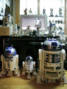 casa de un coleccionista de star wars