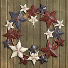 AMERICANA STAR WREATH by Fun Express, http://www.amazon.com/dp/B007JY4NN0/ref=cm_sw_r_pi_dp_-B4tsb06PGJPN