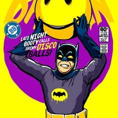 Shiny Disco Bats