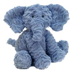 Soft toys from Jellycat never fail to delight, and with good reason too. Made from super soft plush and featuring an adorable, friendly face, the Jellycat Fuddlewuddle Medium Elephant is impossible to resist. Elephant Stuffed Animal, Stuffed Animals, Elephant Bleu, Elephant Nursery, Elephant Crafts, Baby Elefant, Jellycat, All Toys, Children's Toys