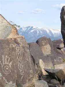 Petroglyph National Monument,  New Mexico.