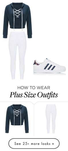 """Cute"" by skittles-se on Polyvore featuring Gozzip and adidas"