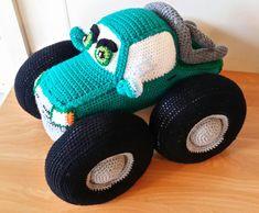 Crochet Monster Truck