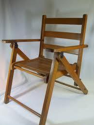 Gentil Wooden Beach Chair