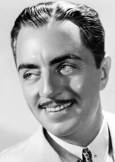 William Powell, 1935 (engaged to Harlow at the time of her death on  June 7, 1937)