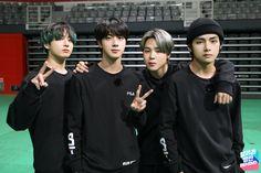 BTS Bangtan on RUN BTS Ep 101 - maknae line (Taehyung, Jungkook and Jimin) with handsome Jin Vlive Bts, Bts Twt, Bts Bangtan Boy, Seokjin, Kim Namjoon, Jung Hoseok, K Pop, Bts Memes, Taekook