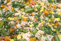 Add a rich tangy zest to a traditional rice dish with salsa and mixed vegetables.