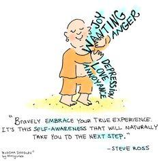 Buddha Doodles | Buddha Doodle - 'Bravery' I'm reading this...