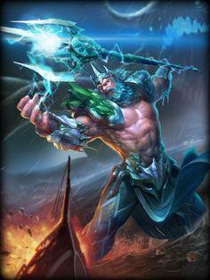 SmiteGuru - God - Poseidon