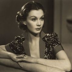Hair tutorial: Vivien Leigh inspired 30s hair and make-up  Umm basically what I wanna look like when waking up in the morning.  She is so gorg!