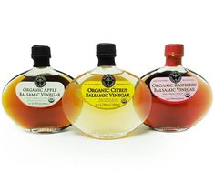 USDA Certified Organic Citrus Balsamic Vinegar of Modena Italy Oak barrel aged balsamic vinegar with an enticing blend of organic lemon juice, Trebbiano grape must and wine vinegar Use to drizzle on fresh garden salads, over fruit, berries or panna cotta. #citrus #grape #balsamicvinegar #housewarminggiftideas #birthdaygiftideas #holidagiftideas #organicvinegar #vinegar #italiangourmet #saladdressing