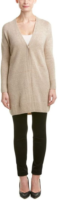 Lafayette 148 New York Petite Cashmere & Silk-Blend Duster