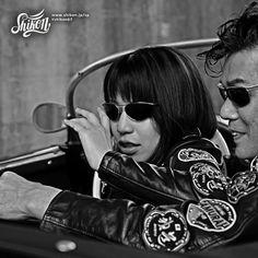 Harajuku Japan, Riders Jacket, Japanese Kanji, Greaser, Vintage Patches, Line Shopping, Patch Design, One Image, Psychobilly