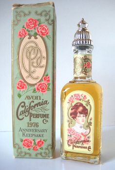 vintage perfume package | Vintage Beauty Cosmetics Label and Package Designs – Part Une