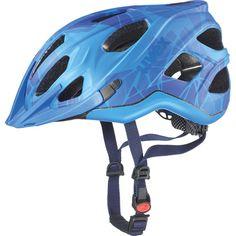 cycling helmet, uvex adige cc, blue mat