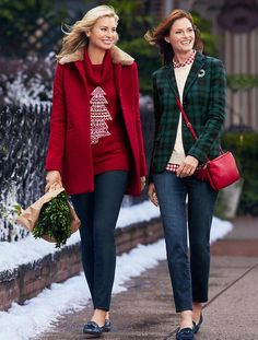 Talbots - Faux Fur-Trimmed Gramercy Short Coat | Coats and Outerwear | Nov 2015