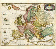 Antique Maps of Europe