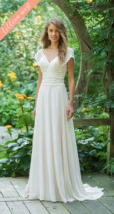 Wedding Dress 66017 by Lillian West - Search our photo gallery for pictures of wedding dresses by Lillian West. Find the perfect dress with recent Lillian West photos. Lillian West, Bridal Dresses, Wedding Gowns, Informal Wedding Dresses, Modest Wedding, Hippy Wedding Dresses, Wedding Dress Casual, Vintage Boho Wedding Dress, Backyard Wedding Dresses
