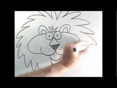 Look Kids, Easy Five Wild African Animals Cartoons For Beginners With Ron Berry (Part 1) - YouTube
