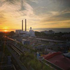 #sunset #StrijpS #Eindhoven #40Up ##40upzomerfestival
