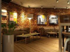 Champagne Room Art Club kapitanov holzboden gemütlich cafe