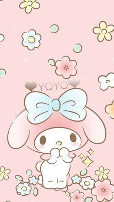 My Melody Wallpaper, Sanrio Wallpaper, Hello Kitty Wallpaper, Kawaii Wallpaper, Wallpaper Iphone Cute, Korea Wallpaper, Hello Kitty My Melody, Character Creator, Hello Kitty Pictures