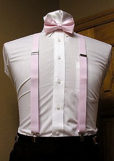 415d20eff Details about Men s clip-on suspenders x back and Bow Tie Retro Steampunk  Costume Tux Prom