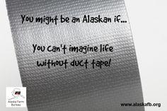 We're Alaskans! Farm Humor, The More You Know, Alaska, Funny Memes, Lol, Sweet, Candy, Hilarious Memes, Fun