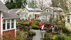 Umatilla Hills. Pocket Neighborhood Slideshow, Cottages Homes, Cottage House Plans