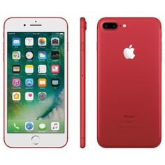 Apple iPhone 7 Plus 128GB Red MPQV2LL/A - Best Buy ($28) ❤ liked on Polyvore featuring accessories and tech accessories