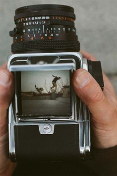 Hasselblad 503 medium format camera.