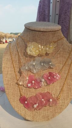 Cloth flower with resin, can keep the colorful flower forever, like every girls... ハンドメイド、手作り、手仕事品の通販・販売・購入ならCreema。