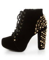 #studded hot #shoes