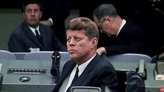 President Kennedy at Cape Canaveral, November 16th, 1963.