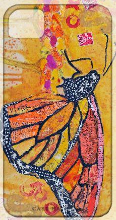 Monarch: Elizabeth St. Hillaire Nelson Paper Paintings--iphone case