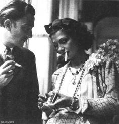 Salvador Dali a Coco Chanel