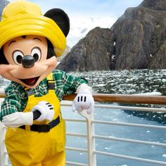 Mickey in Alaska! (on Disney Cruise Lines)- contact me to book your next cruise! Stacey.trask@keytotheworldtravel.com